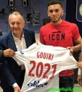 里昂官方宣布与18岁前锋古伊里签约至2021年