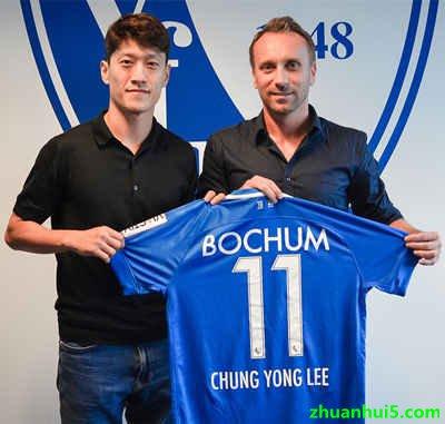 波鸿官方宣布免费签下韩国国脚李青龙(Lee Chung-yong)