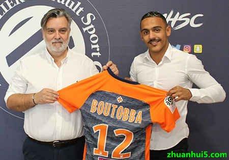 蒙彼利埃官方宣布法国中场布托(Bilal Boutobba)巴自由转会加盟