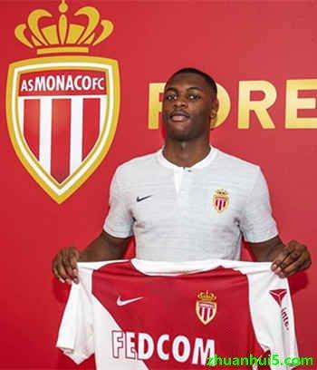 摩纳哥官方宣布签下里尔后卫福登-图雷(Fode Ballo-Toure)