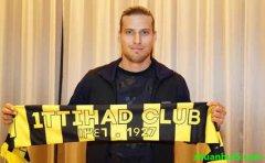 吉达联合官方宣布签下了塞萨洛尼基当家前锋普里约维奇(Aleksandar Prijovic)