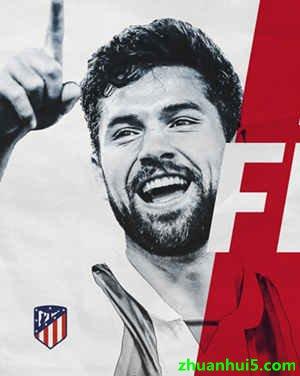 马竞官方宣布正式与巴西后卫费利佩-蒙蒂耶罗签约3年
