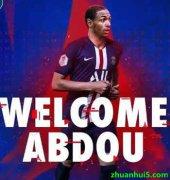 巴黎圣日耳曼官网宣布3400万欧元签约多特蒙德后卫迪亚洛