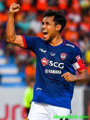 清水心跳官方宣布从蒙通联队签下了泰国国脚中锋迪拉西-当达