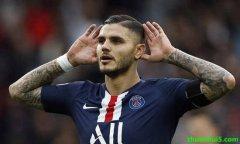国际米兰官方宣布大巴黎正式买断伊卡尔迪 转会费5000万