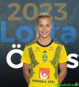 曼联女足后卫洛塔-奥克维斯特(Lotta Okvist)加盟至哥德堡女足