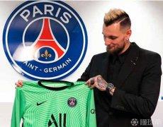 巴黎圣日耳曼官方宣布与门将亚历山大-莱特利尔续约至2022年
