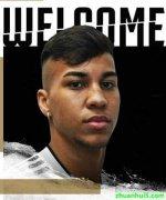 尤文图斯官方宣布签下19岁的巴西前锋凯奥-若热(kaio jorge)